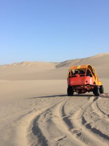Sand Dune Ride in Huacchina, Peru